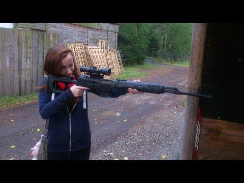 Firing guns in Czech Republic