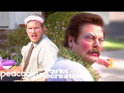 Ron Fixed Her Pothole - Parks and Recreation