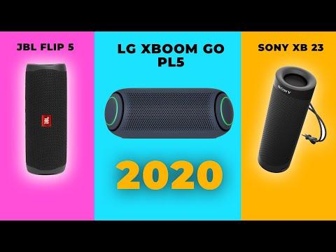 TOP 3  LOA BLUETOOTH TỐT NHẤT CUỐI NĂM 2020 | LG XBOOM GO PL5 - SONY XB23 - JBL FLIP 5 | CHỌN AI ?