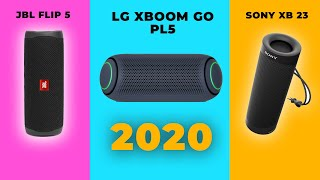 TOP 3  LOA BLUETOOTH TỐT NHẤT CUỐI NĂM 2020 | LG XBOOM GO PL5 - SONY XB23 - JBL FLIP 5