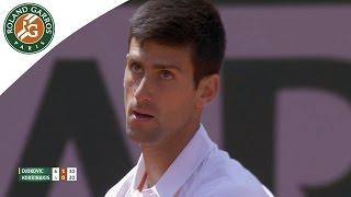 Novak Djokovic v Thanasi Kokkinakis Highlights - Men's Round 4 2015 - Roland Garros
