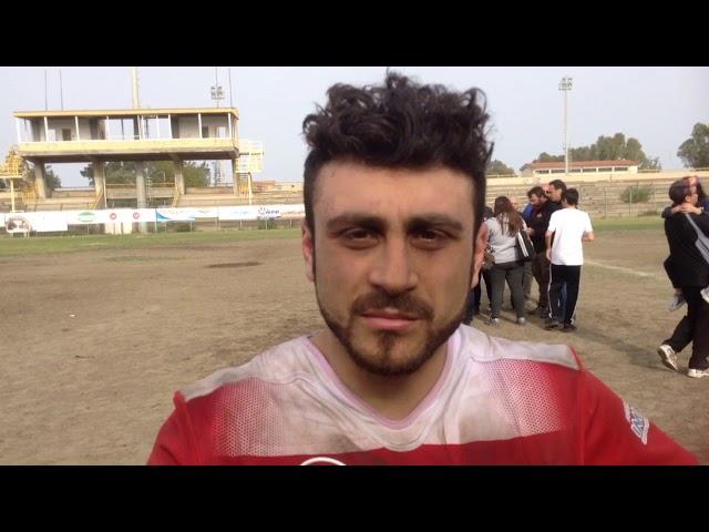 Amatori Catania- Rugby Roma Olimpic.Le voci del dopo gara:Graziano Camino