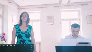 Nur bei dir bin ich sicher (Alexander Knappe) - Cover by Jasmin Eisert + David Schlephorst