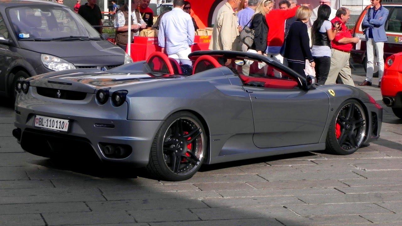 Novitec Rosso Modified Ferrari F430 Spider Sound Youtube