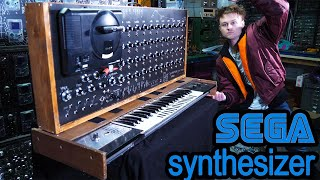 Sega MegaDrive Synthesizer, Made From A Sega Mega Drive And GEN MDM
