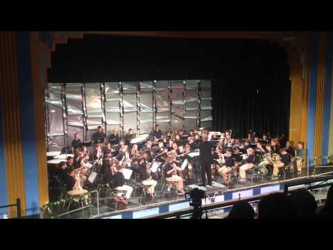 """Sedgwick Middle School 6th Grade Band - December 16 2013 - """"Friends of Freedom"""""""