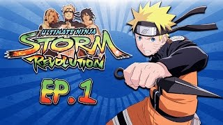 Naruto Storm Revolution Ep. 1 (Delirious Vs DoWrk) Best of 3!