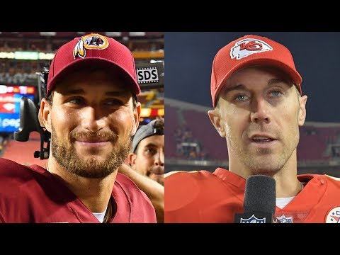Alex Smith, Kirk Cousins and veteran QB market for Cleveland Browns