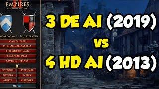 3 Definitive Edition vs 4 HD AI