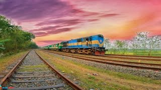 LHB HIGH SPEED SUNDARBAN EXPRESS || 4k video|| Bangladesh Railway
