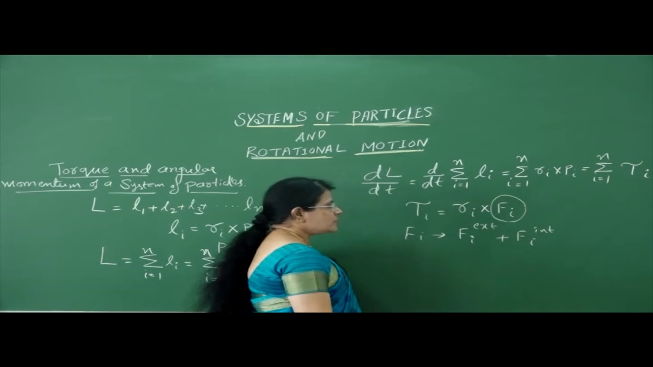 I PUC   Physics  System of Particles and Rotational motion- 05