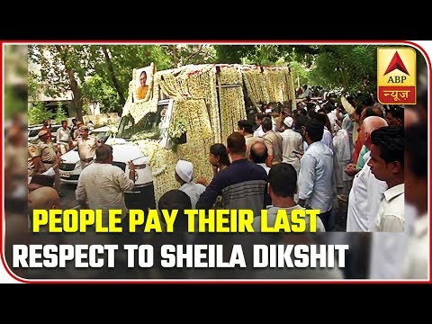 People To Pay Their Last Respects To The Three-Term Former Delhi CM Sheila Dikshit