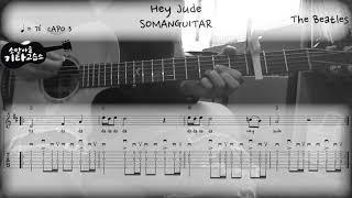 The Beatles - Hey Jude (Guitar…