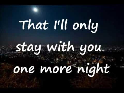 Maroon 5 - One More Night Lyrics