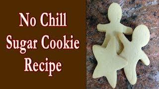 No Chill Sugar Cookie Dough