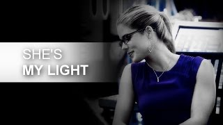 "Oliver + Felicity | ""She saved me, she"