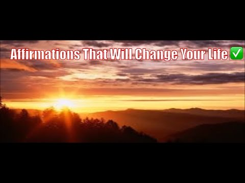Affirmations That Will Change Your Life, Reprogram Your Thinking. The Power Of I Am