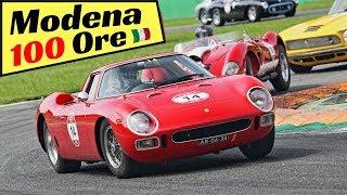 Modena 100 Ore Classic 2018, Monza Highlights - Ferrari 250 LM, Ford GT40, Shelby Daytona & More!