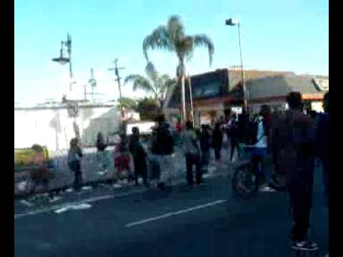 Martin Luther king parade fight 2015 part2