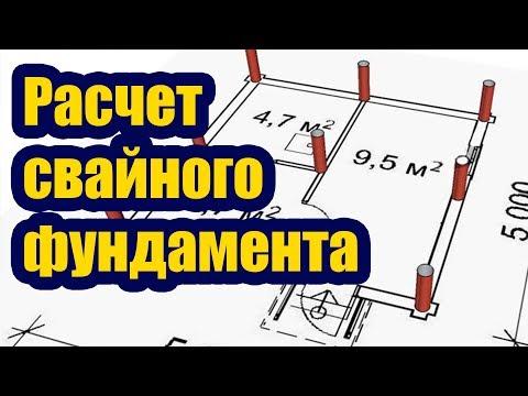 РАСЧЕТ СВАЙНОГО ФУНДАМЕНТА