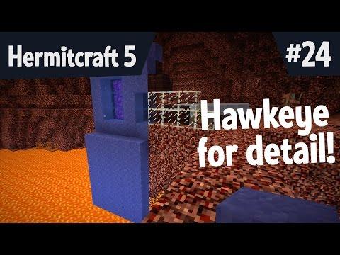 Hawkeye for detail! Base improvement mashup! — Hermitcraft 5 ep 24