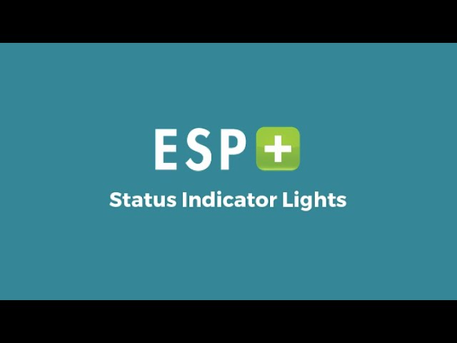 Video 2: Status Indicator Lights