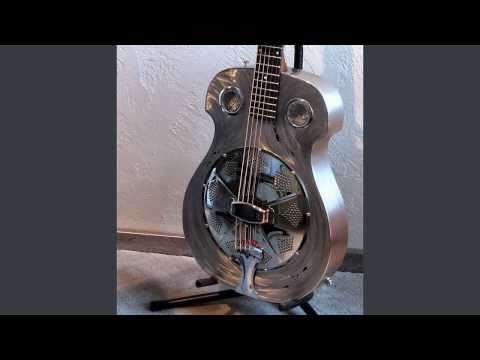 "A home made resonator guitar ""The Meteor"""