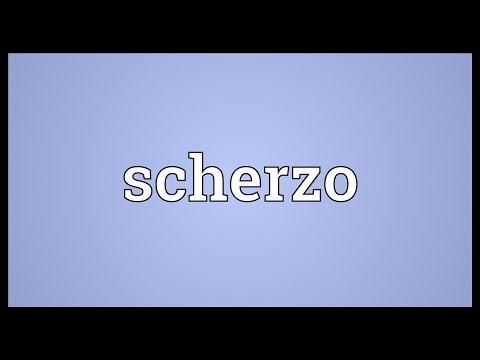 Scherzo Meaning