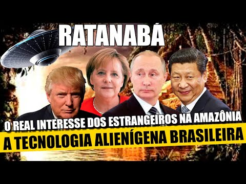 A Tecnologia Alienígena Brasileira E O Real Interesse Dos Estrangeiros No Brasil