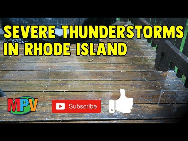 Severe Thunderstorms in Rhode Island (6.30.19) #1263