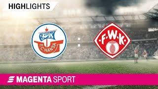 Hansa Rostock - FC Würzburger Kickers | Spieltag 17, 19/20 | MAGENTA SPORT