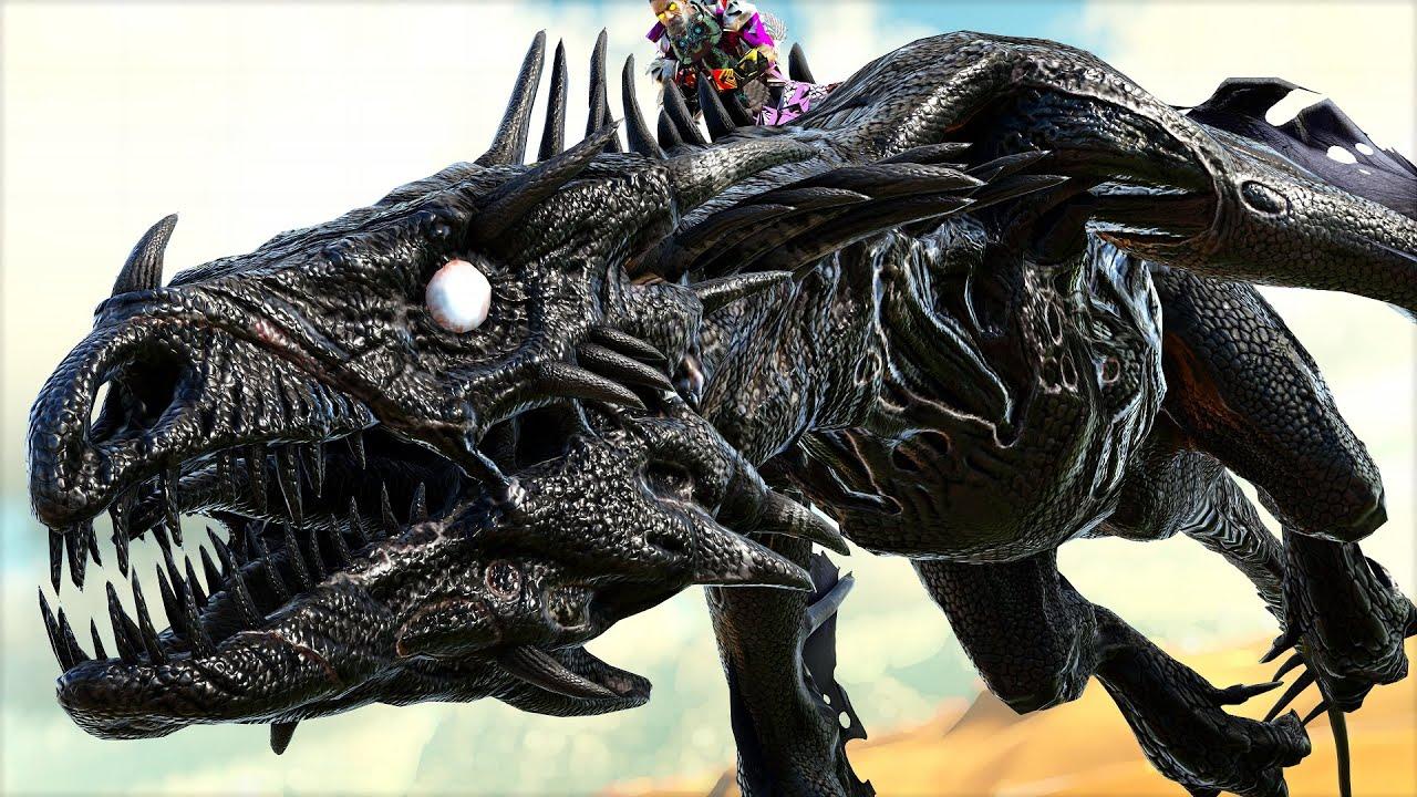 Domei o Explosivo Necrotic Wyvern Do Deserto! Ele PODE... Ark Guerra - Dinossauros