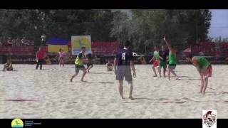 LegionXXI - Винница(обзор голов) Пляжный гандбол, мужчины Чемпионат Украины