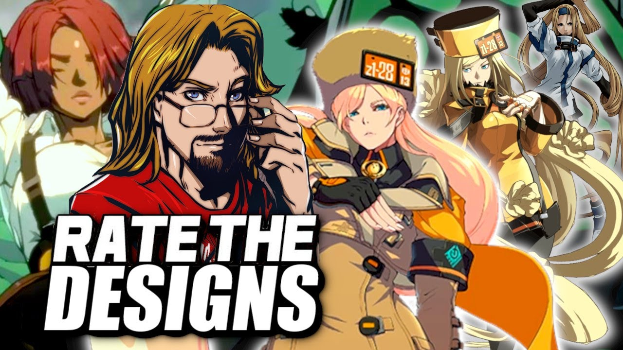 RATE THE DESIGNS: Guilty Gear Strive vs OLD GUILTY GEAR