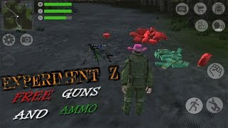 Experiment Z - Free Guns And Ammo (Zombie Survival Gameplay) Android/IOS