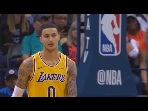 Kyle Kuzma Turns Into Lakers' Kobe Bryant & Destroys Entire Thunder! Lakers vs Thunder