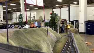 Early Piggyback TOFC trailer on flatcar Tructrain  Longmont Terminal & Northern o scale