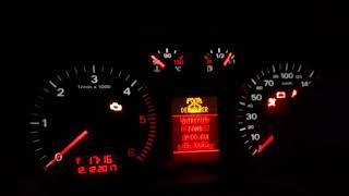 Remise à zéro km après une vidange Audi a3 8p