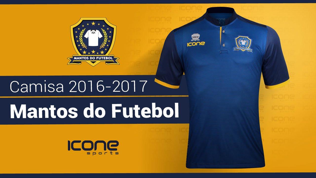 UNBOXING - Camisa do Mantos do Futebol 2016-2017 - Ícone Sports - YouTube 4d14b39559a