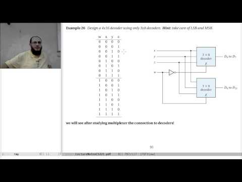 04-d Combinational Logic: decoders & encoders