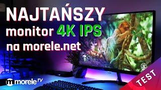 Najtańszy monitor 4K IPS na morele.net | Test Philips 276E8VJSB