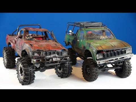 "RC ADVENTURES - ""Trail Finder 2"" Toyota Hilux 4x4 RC Trucks (1/10th Scale Off-Road Trail Trucks)"