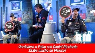 Verdadero o Falso con Daniel Ricciardo