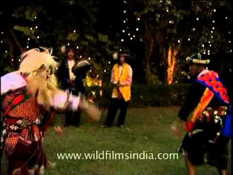 Highly stylised dance from Arunachal Pradesh