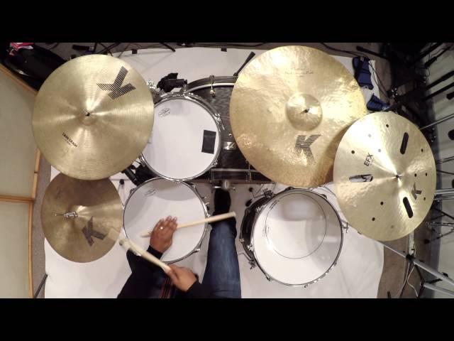 [CANOPUS / カノウプス] Louis Cato plays Canopus Ash drum kit