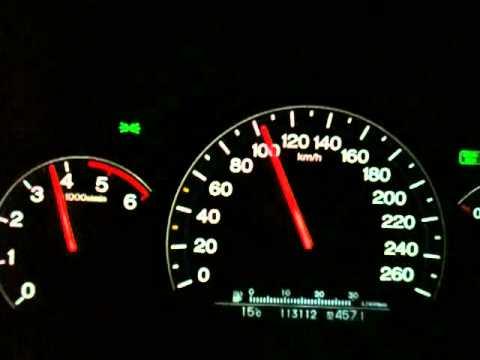 I-CTDI Accord 2006 140hp stock 0-200 km/h