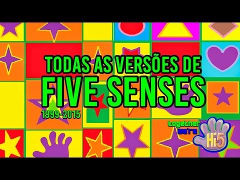 Todas As Versões de Five Senses: 1999 - 2015