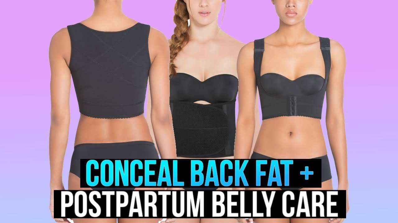 5361d21445a Waist Training Back Fat + Postpartum Belly Band (New Products) - YouTube