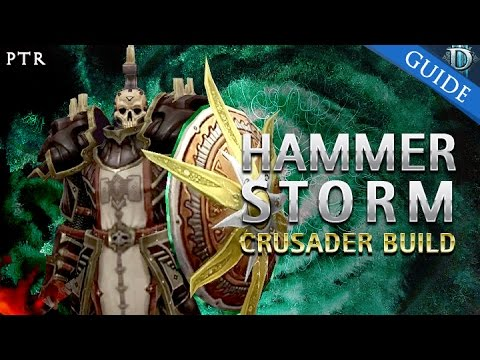 D3 Ros Crusader Seeker Of Light Hammer Storm G50 T10 Build