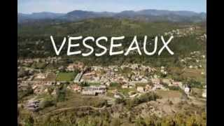 La commune de Vesseaux en Ardèche